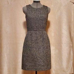 J. Crew Tweed Sheath Dress